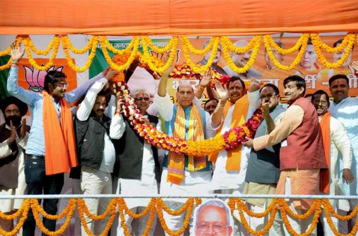Rajnath Singh had said last week that Muslims should have