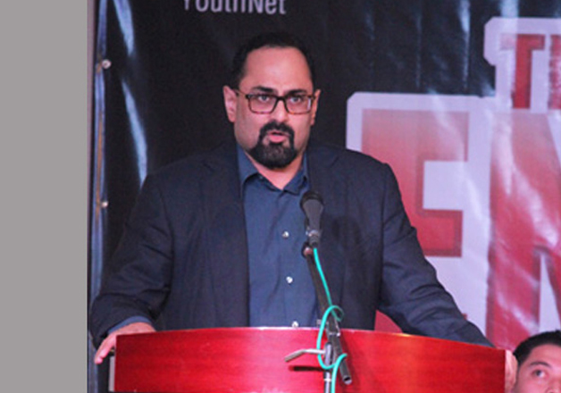 File pic - Rajeev Chandrasekhar had moved a Bill to declare