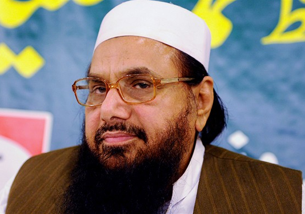 File pic of JuD chief terrorist Hafiz Saeed