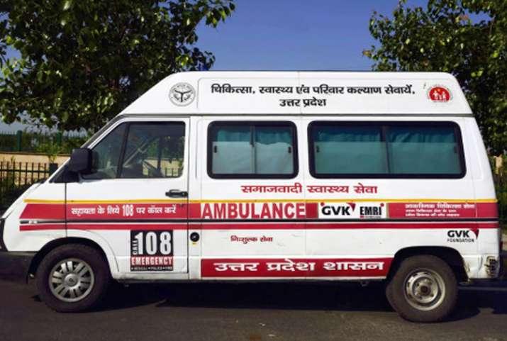 UP govt covers Samajwadi from ambulances after EC order
