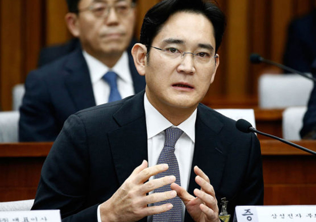 Samsung heir Lee Jae-yong arrested in South Korea on