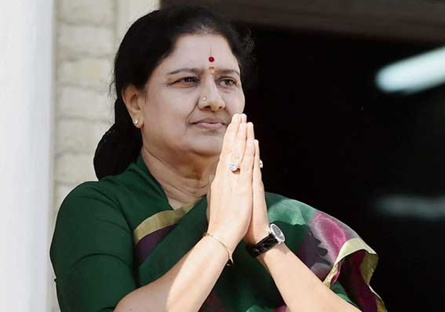 File pic of AIADMK supremo Sasikala