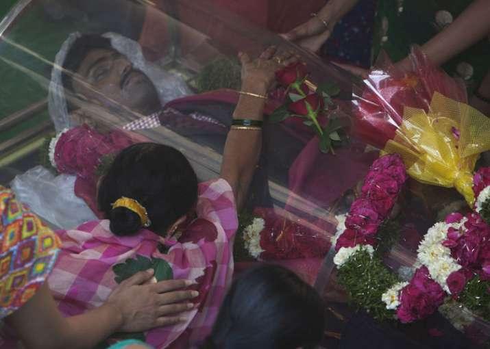 Srinivas was shot dead by a US Navy veteran at a Kansas bar
