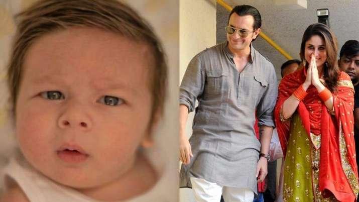 India Tv - Kareena, saif with son Taimur