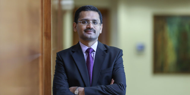 Rajesh Gopinathan took over as CEO of TCS a week ago
