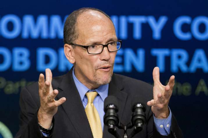 Tom Perez elected as the new chairman of the US Democratic