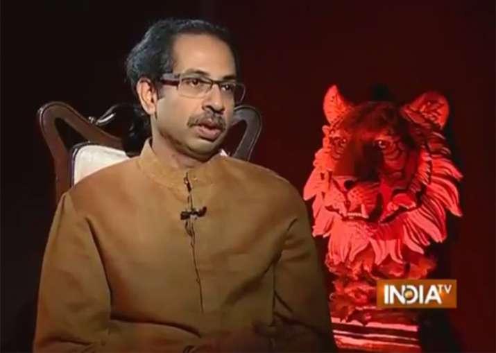 Shiv Sena chief Uddhav Thackeray in an interview on India