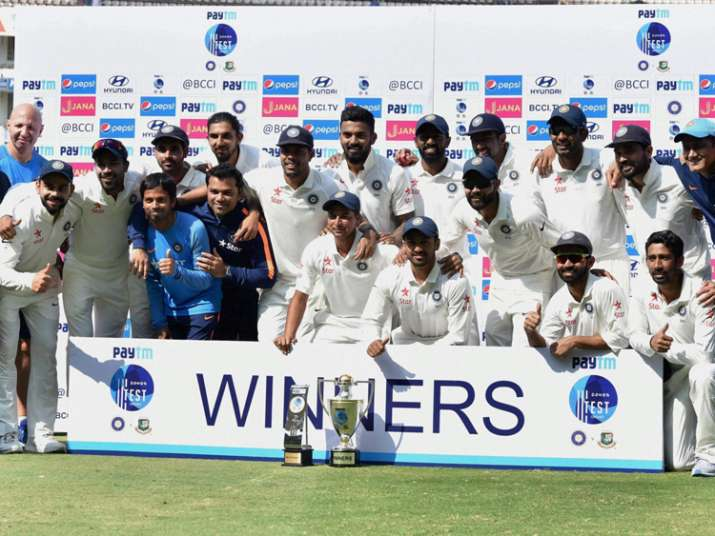 India defeated Bangladesh by 208 runs in the one-off Test