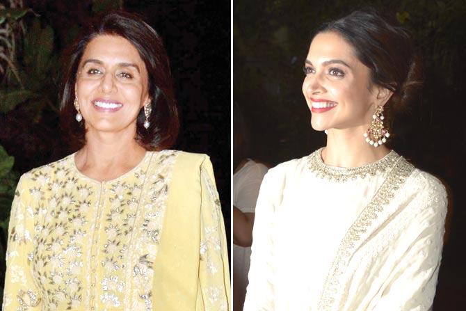 Deepika Padukone spotted with Neetu Kapoor! Are Ranbir &