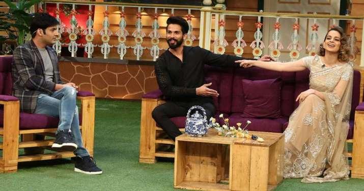 India Tv - Kapil Sharma, Shahid Kapoor, Kangana Ranaut