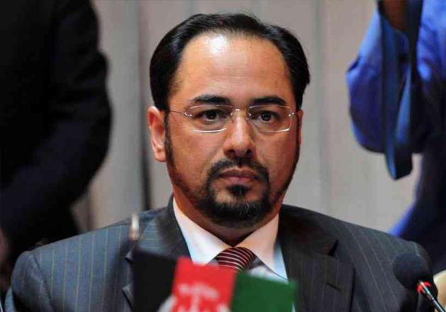 File pic of Afghan Foreign minister Salahuddin Rabbani