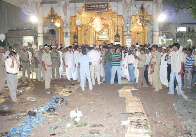 File pic of 2007 Ajmer blast