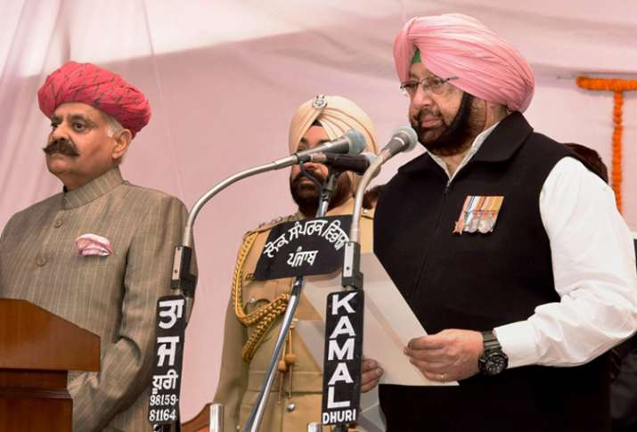 Punjab CM Amarinder Singh has kept Home Affairs for himself
