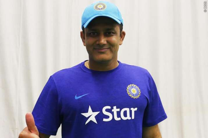 c2aff76218f Anil Kumble. Buoyed over the Indian cricket team s ...