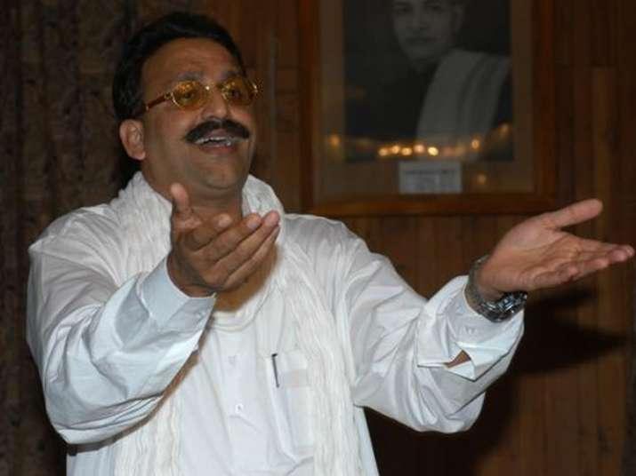 File pic of Mukhtar Ansari