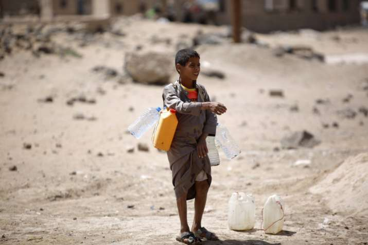 By 2040, 600 million children will face extreme water