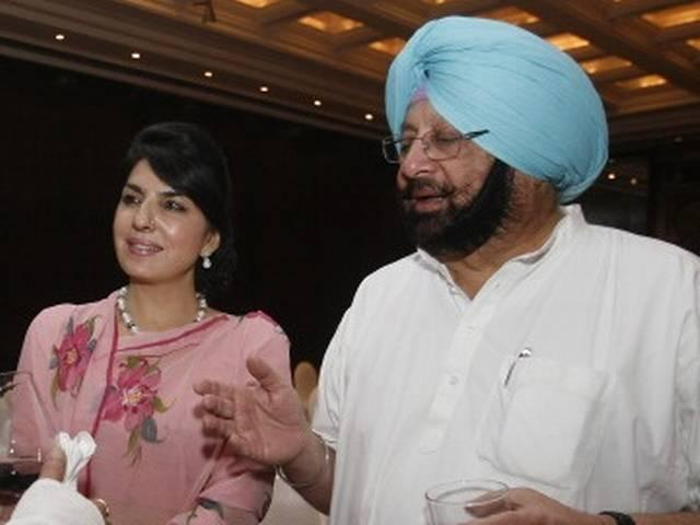 Aroosa Alam, CM Amarinder Singh's 'close friend'