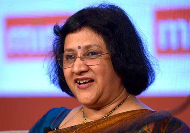 File pic of SBI Chairman Arundhati Bhattacharya