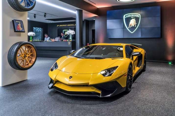 Lamborghini Unveils Super Sports Car Aventador S In India At Rs 5 01