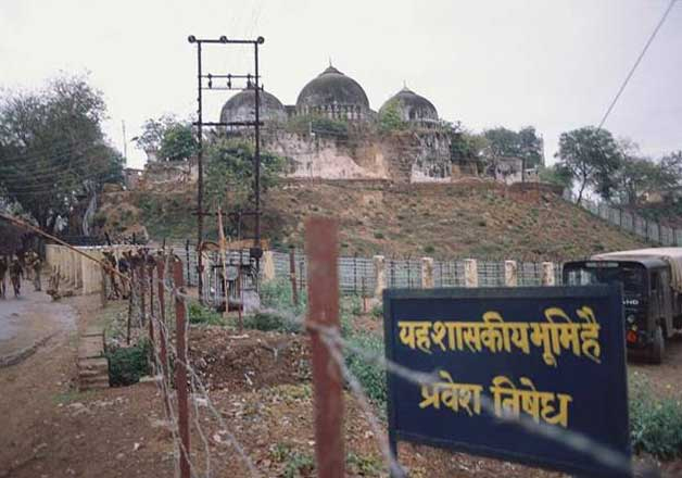 India Tv - File pic of Babri Masjid