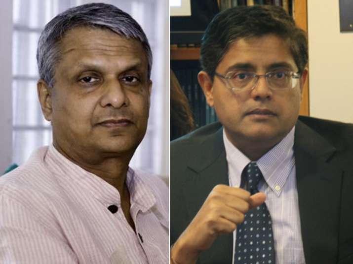 File pic of BJP MPs Tathagata Satpathy and Baijayant Panda