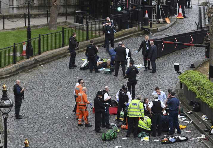 The attack in London came exactly a year after the Brussels
