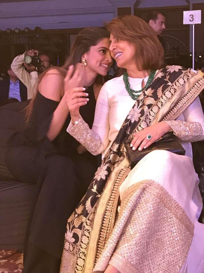 India Tv - Deepika Padukone and Neetu Kapoor