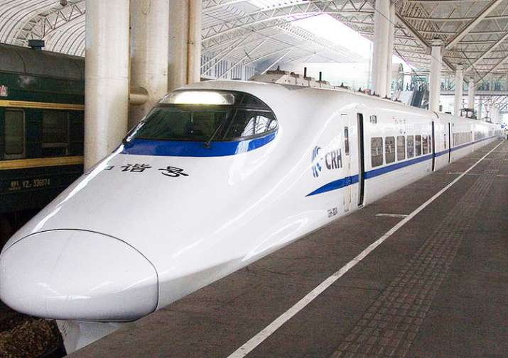 China's bullet trains are one of the fastest in the world