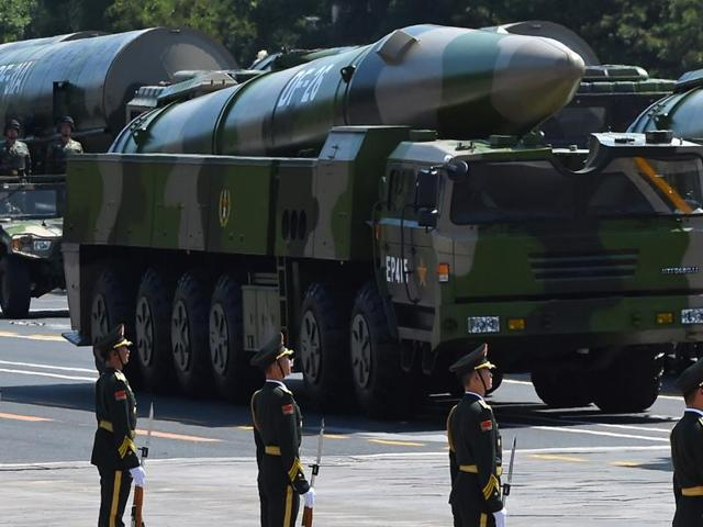 File pic: China to raise defence budget by around 7 pc