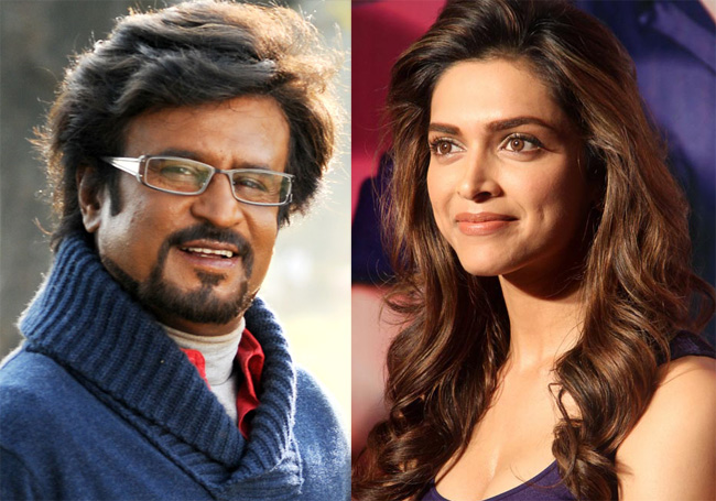 Deepika Padukone not a part of Rajinikanth's next?