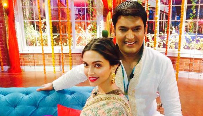 India Tv - When Kapil Sharma had a serious crush on Deepika Padukone!