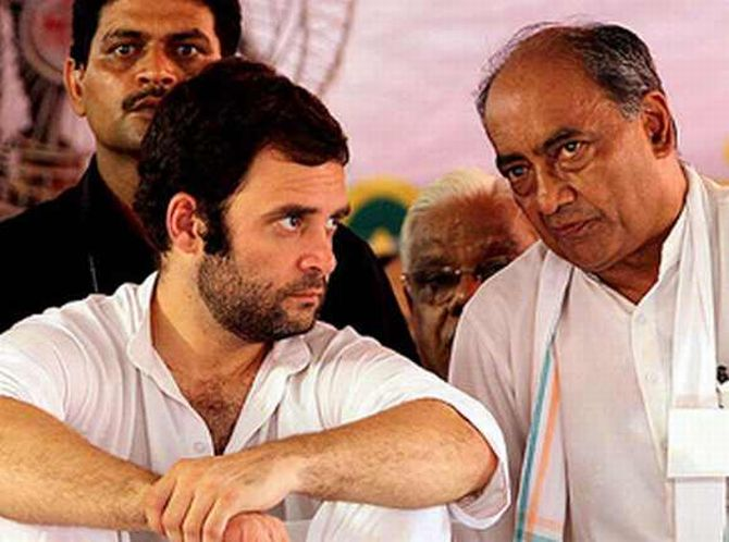 'Rahul Gandhi cabinet' Digvijaya Singh