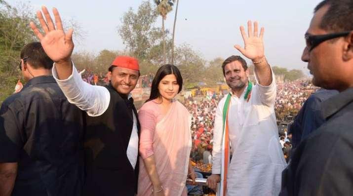 India Tv - Dimple with Akhilesh and Rahul
