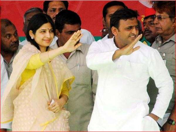 India Tv - Dimple with Akhilesh