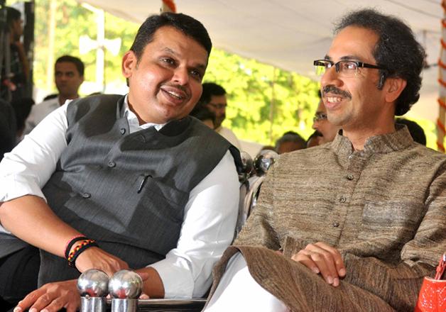 File pic of Devendra Fadnavis and Uddhav Thackeray