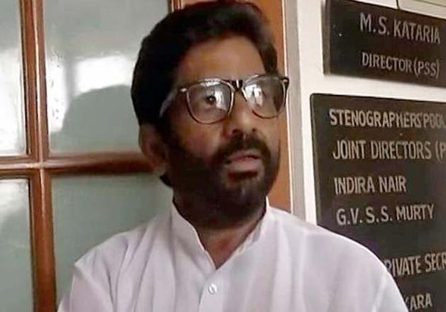 File pic of Sena MP Ravindra Gaikwad