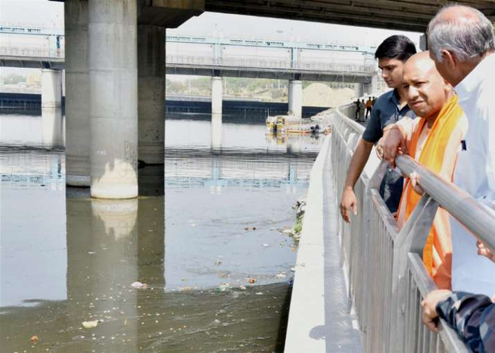 Akhilesh Yadav's Gomti riverfront project under Yogi's