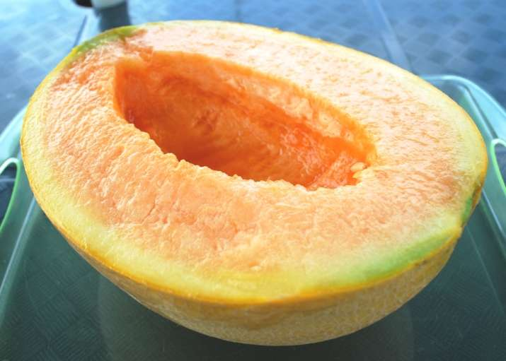 This melon costs as much as a new car!