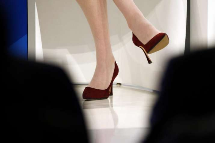 UK lawmakers debate on whether high heel dress codes are