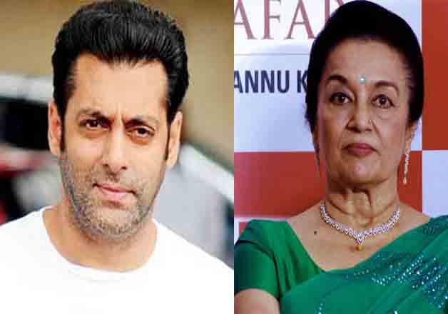 Salman to launch veteran actress Asha Parekh's