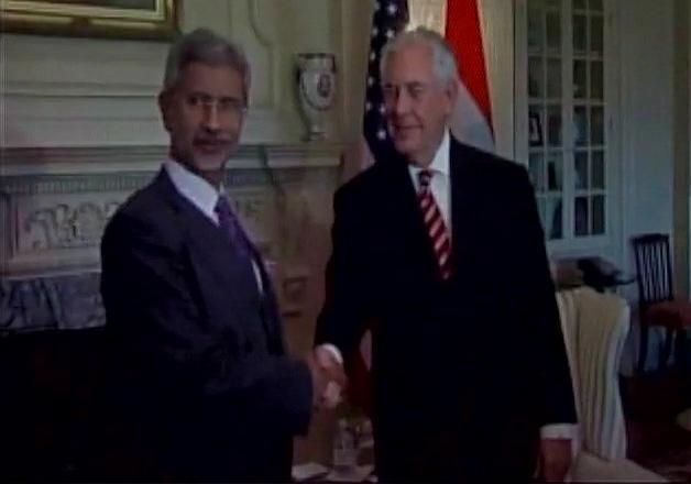 Jaishankar meets US Secretary of State Tillerson