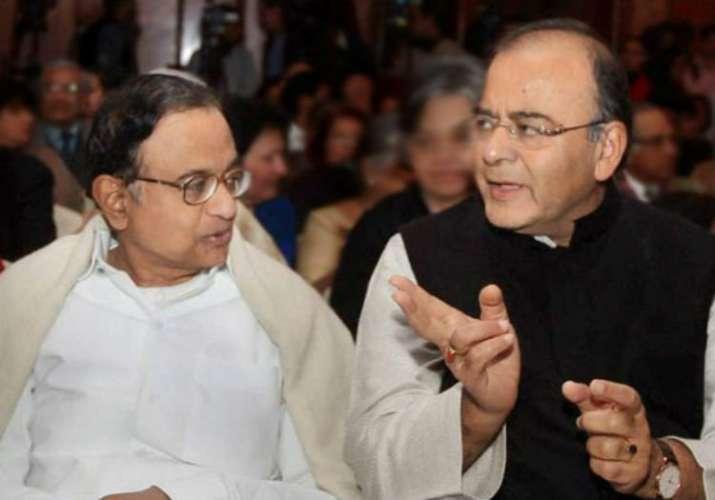 Jaitley, Chidambaram spar in Rajya Sabha over MS Dhoni's