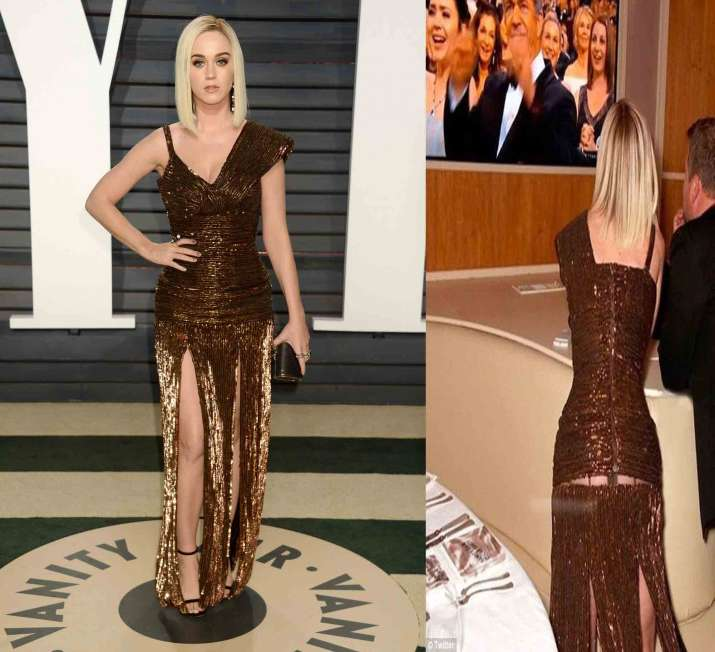 The Best Moments Of Katy Perry S Met Gala Hamburger Outfit: Oscars 2017: Oops Moments Of Hollywood Celebs At Red