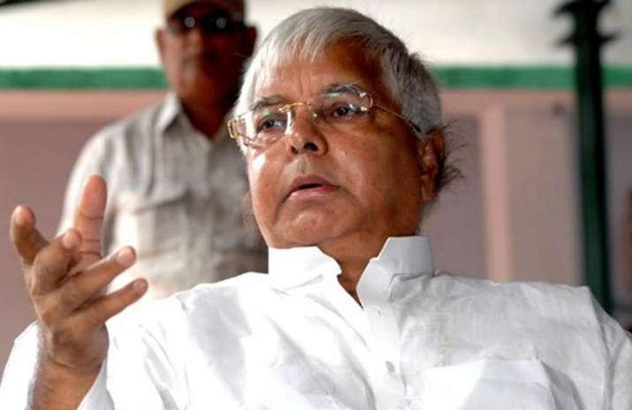 File pic of Lalu Prasad Yadav