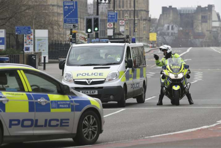 Four people were killed in the terror attack near UK