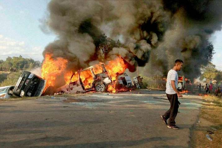 Manipur economic blockade to be lifted tonight after 130