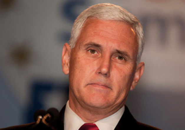 File pic of US Vice President Mike Pence
