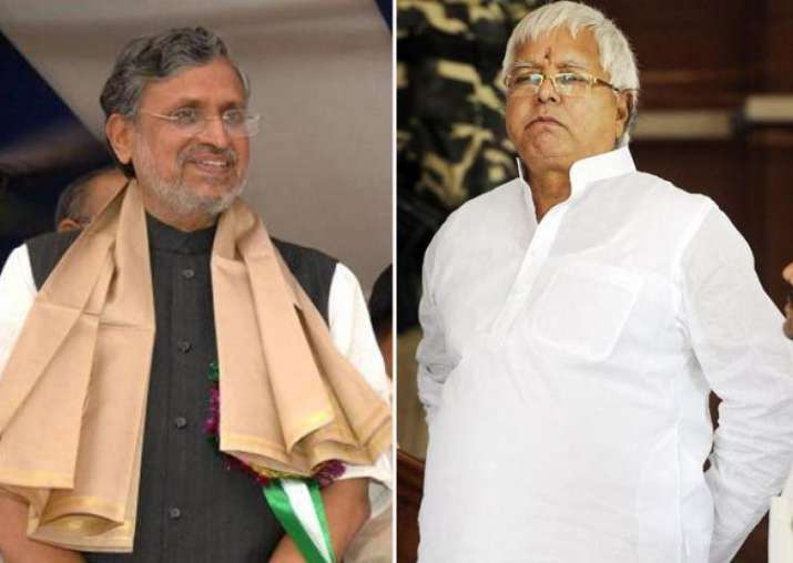 UP Election Results: Sushil Modi tries to mock Lalu Yadav,