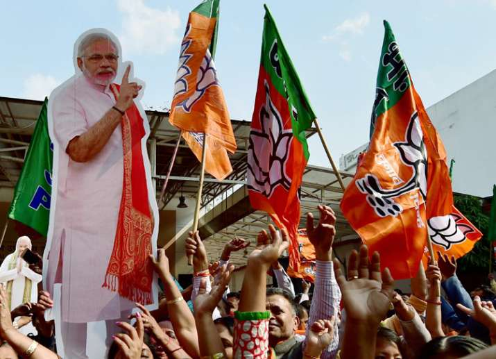 BJP won 312 of 403 seats in UP Assembly