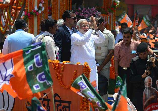 File pic - PM Narendra Modi to hold road show in Varanasi
